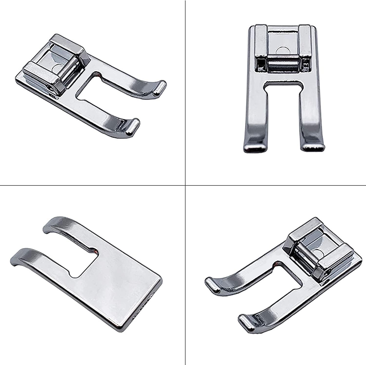 VANICE Snap On Open Toe Foot Appliqu/é Presser Foot for Brother,Singer,Babylock,Elna,Kenmore Sewing Machine