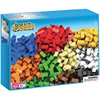 Webby Plastic Building Blocks Construction (Multicolour) - Set of 550 Pieces