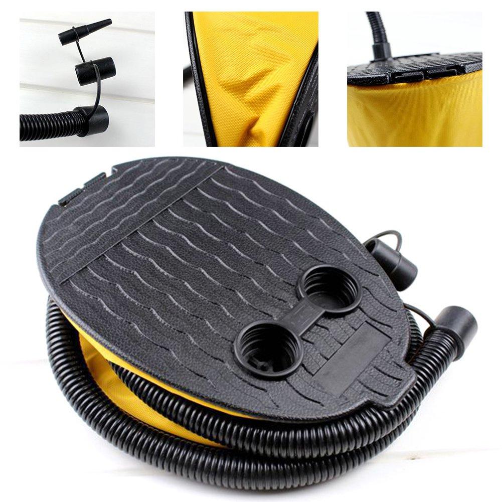 Camping Bomba de pie Manual para Anillo de Nataci/ón Dormir MOOUK Bomba Inflable de Aire de Alta Capacidad de 3 litros colchoneta de Aire