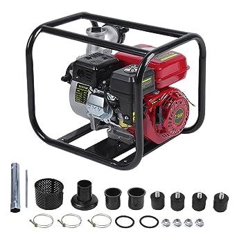 60.000 l//h Benzin Wasserpumpe 6,5 PS Motor Gartenpumpe Motorpumpe 3/'/' Zoll