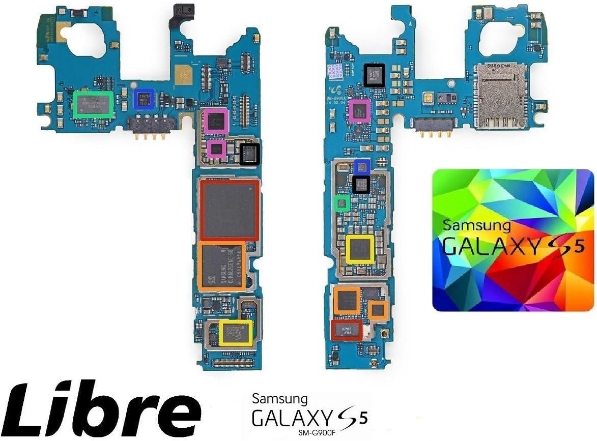 Placa Base Samsung Galaxy S5 SM G900F 16 GB LIBRE UNLOCKED Carte ...