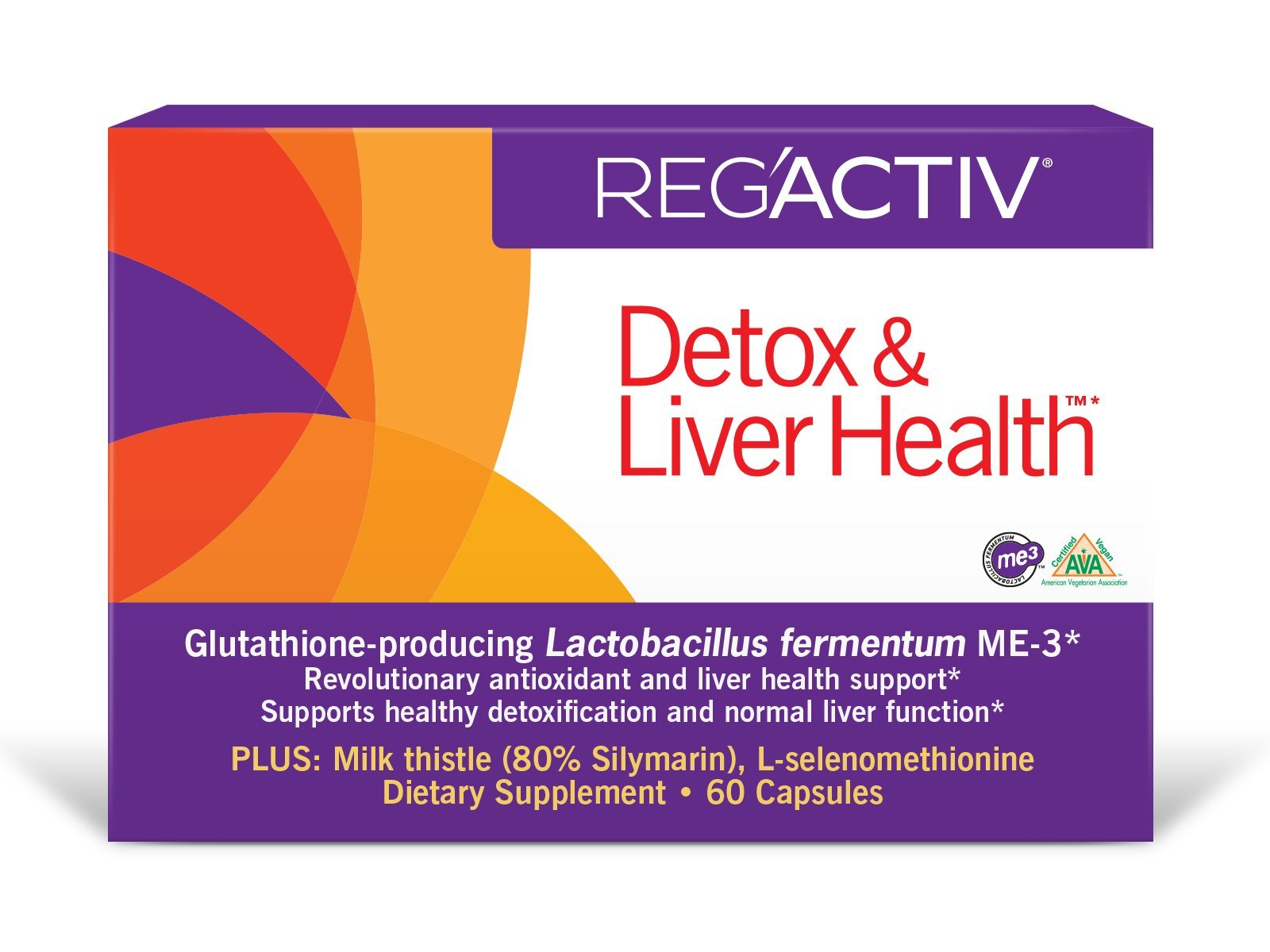 Reg'Activ Detox & Liver Health Capsules, 60 Count