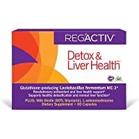 REG'ACTIV Detox & Liver Health, 60 Capsules, with The Glutathione-producing probiotic...