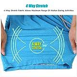 MaaMgic Mens Quick Dry Solid 4 Way Stretch Swim