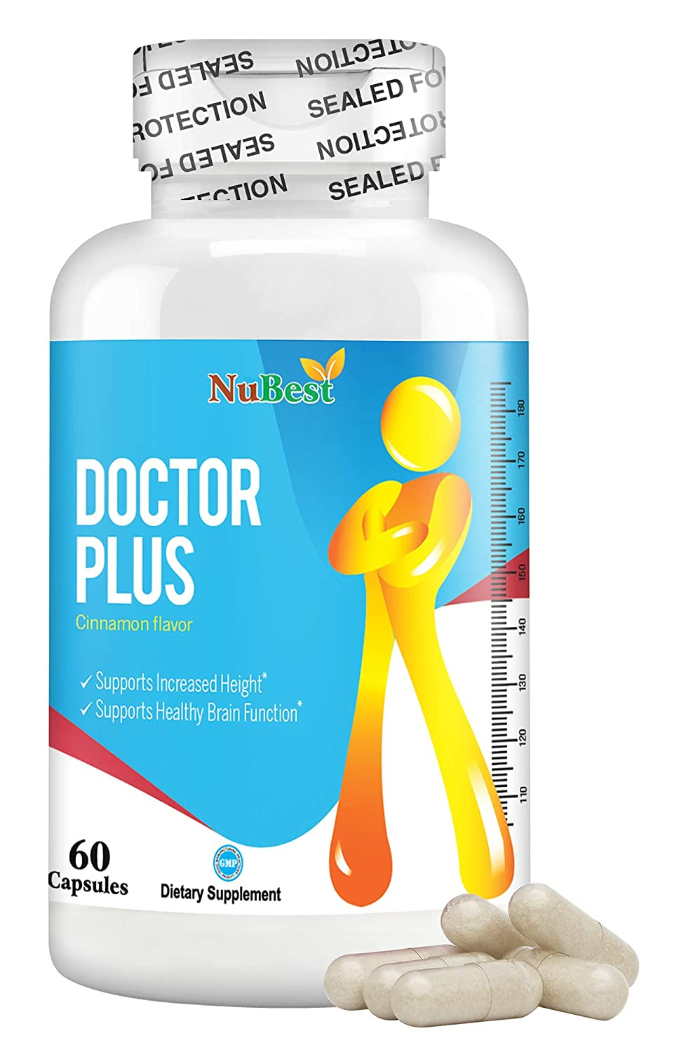 Amazon.com: Doctor Plus 60 °Cápsulas, altura óptima ...