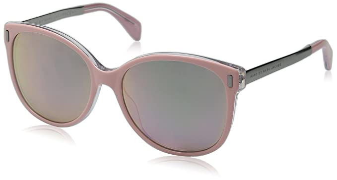 76e1d4a5fc9 Amazon.com  Marc by Marc Jacobs Women s Mmj464s Oval
