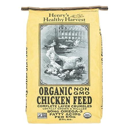 Amazon Henrys Healthy Harvest Organic Chicken Feed