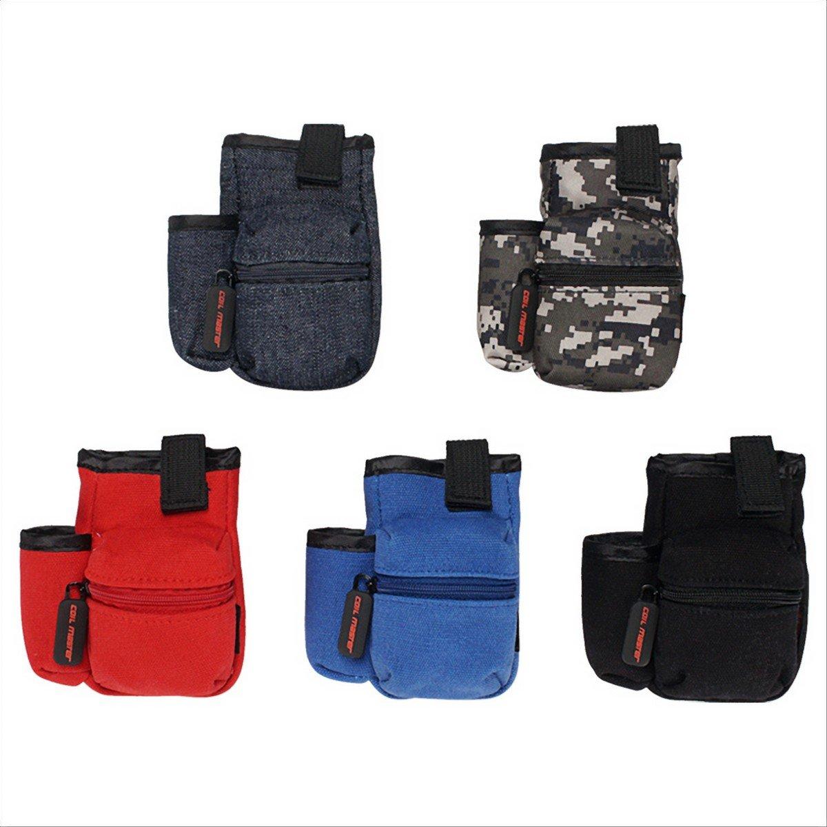 Coil Master Pbag 100% Auténtico Universal Cigarrillo electrónico Vape Travel Estuche portátil de viaje Mini Vape Bolsa para herramientas, líquidos [SOLO ...