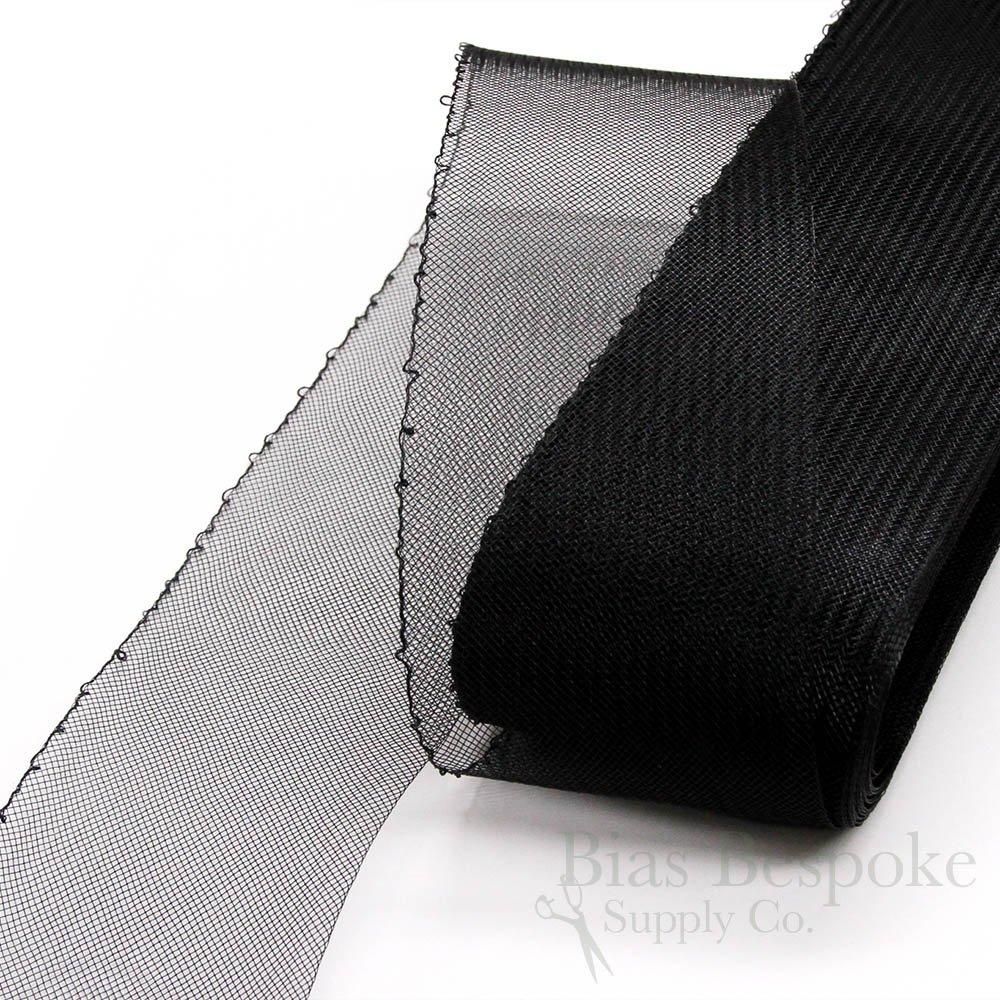 Medium Gray 25 Yards of Soft Horsehair Braid with Gathering Thread 6 Wide