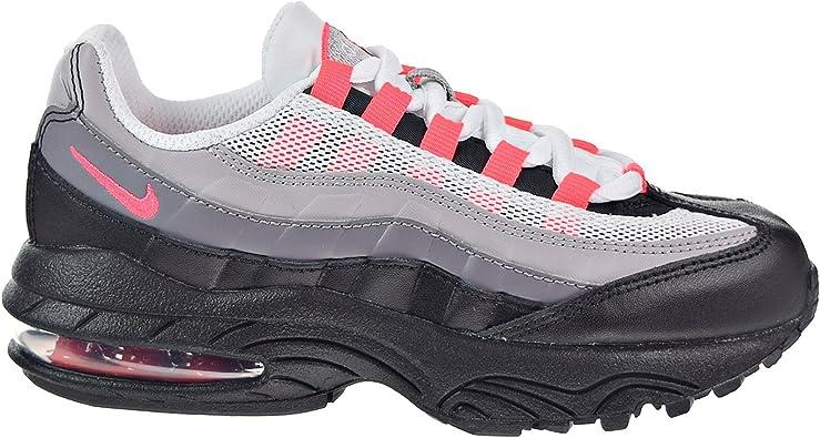Amazon Com Nike Air Max 95 Little Kids Running Shoes Black