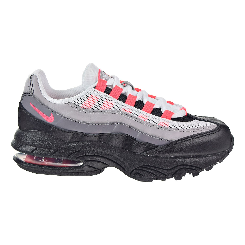 ad073faed4e7d Amazon.com | Nike Air Max '95 Little Kids' Running Shoes Black/Solar ...