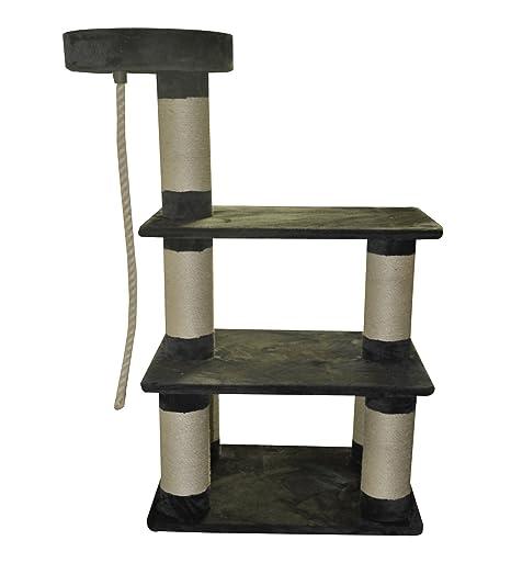 """lemio – Rascador """"Triump gato algodón – 15 cm Grosor Sisal troncos –"""