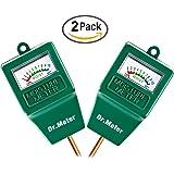 [Soil Moisture Meter] Dr.meter Hygrometer Moisture Sensor Meter for Garden, Farm, Lawn Plants Indoor & Outdoor(No Battery needed), S10 (Green 2S10)