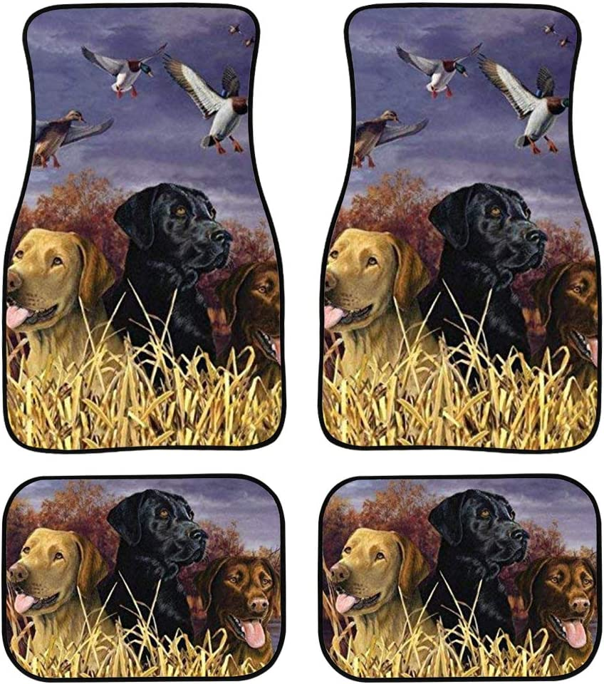 Carepeted All Weather Universal Fit for Cars /& Trucks Rottweiler Car Floor Mats