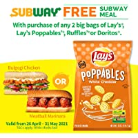 Lay's Poppables White Cheddar, 141g