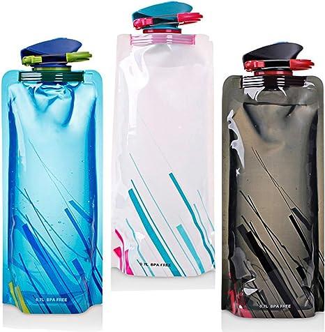 700ML sistema de botellas de agua plegable de 3 con CE, ROHS ...