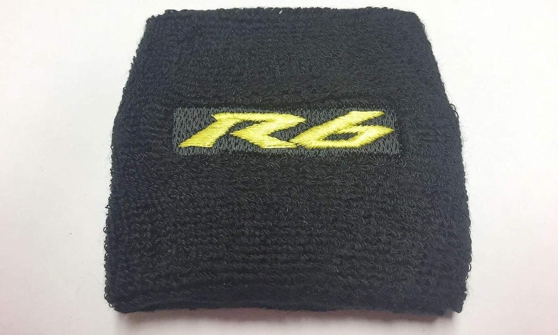 Bike /& bits Yamaha YZF R6 wrist sweat band motorbike ideal mens xmas stocking filler gift Gold