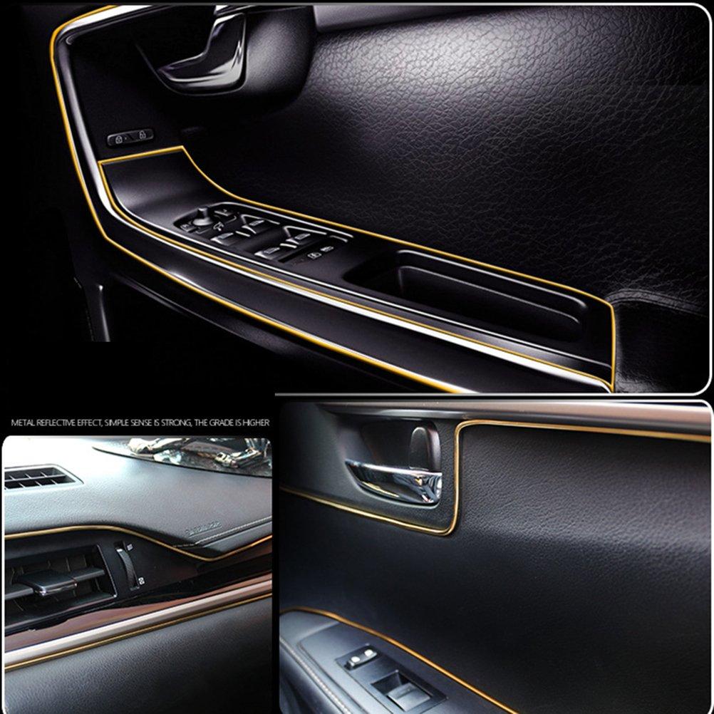 dor/é WINOMO d/égrafer d/écoratives voiture bordure bande pour d/écoration int/érieur ext/érieur voiture 5/m/ètres