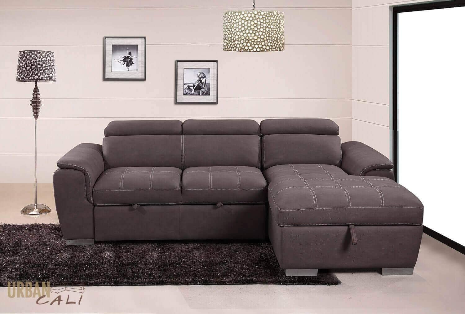 - Fremont Sleeper Sectional Loveseat With Storage Chaise: Amazon.ca