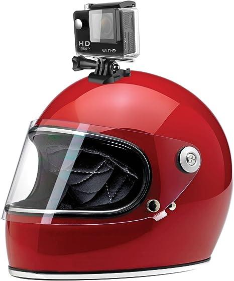 eXuby - Cámara para Casco de Motocicleta, cámara para Casco de ...