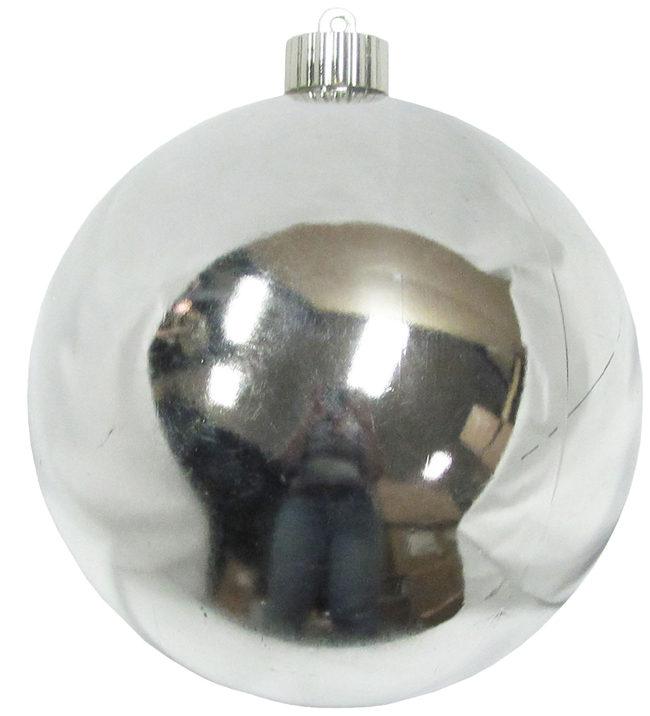 Christmas by Krebs CBK13992 Shatterproof UV-Resistant Christmas Ball Ornaments, Looking Glass, 6''