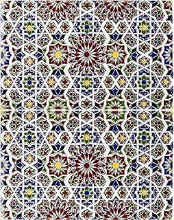 1 m² Ciment Carreaux multicolores patchwork 903 de carrelage Motif ...