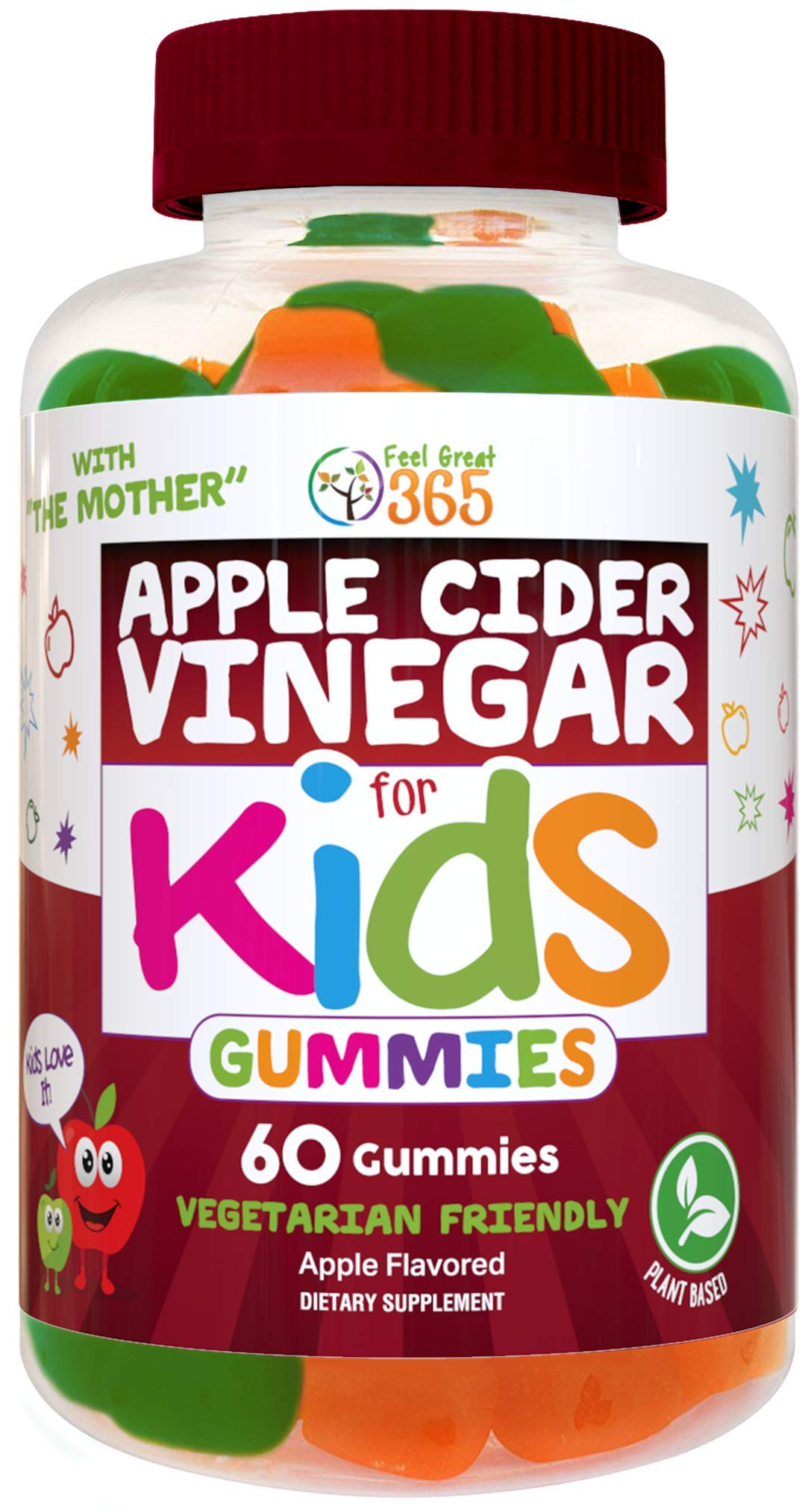 Feel Great Vitamin Co. Multivitamin Gummies for Kids | Daily Chewable Supplement for Children with Vitamins A, Vitamin C…