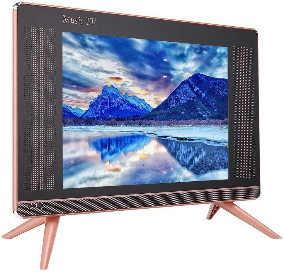 Tosuny Televisor LCD de 15 Pulgadas, Mini Televisor Portátil Sonido Bajo de 110-240 V, Resolución 1366 x 768, Instalación Conveniente, Conveniente Conexión de Decodificador Y Antena(UE): Amazon.es: Electrónica