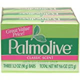 Palmolive Classic Scent Mild All Family Soap. (4 Pack.. 12 bars)... iwgl