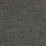 Rivet Fold Modern Ottoman Sofa Bed, 48W, Dark Grey