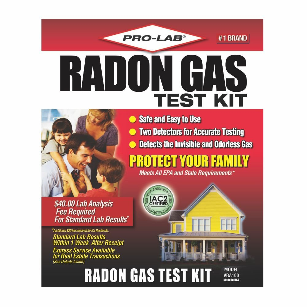 Pro lab radon gas test kit clamshell amazon solutioingenieria Images
