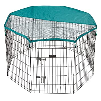 Bunty Pet Pen Large Heavy Duty Dog Run Puppy Play Whelping Cage Metal  Enclosure - Small