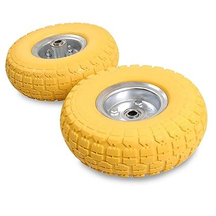 10 pulgadas 250 mm relleno de espuma Go Kart) carretilla carretilla de mano carrito rueda