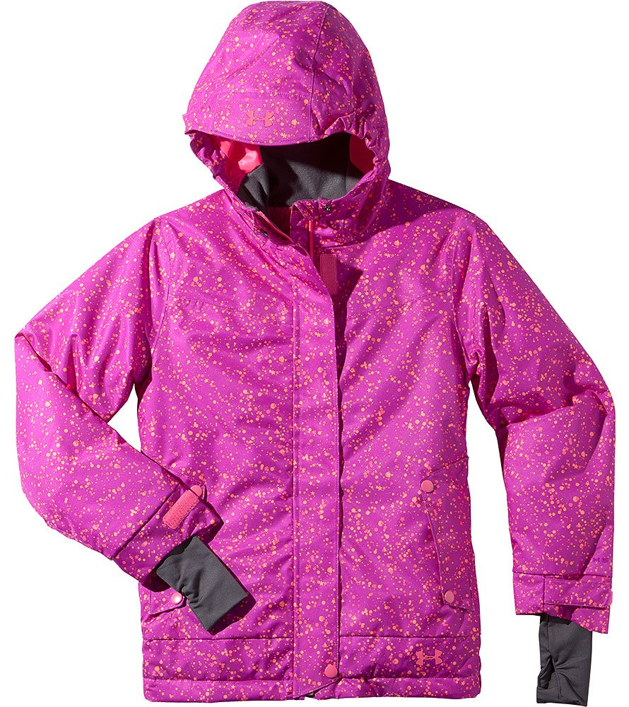 Under Armour Big Girls' ColdGear Infrared Fader Jacket Youth Large STROBE