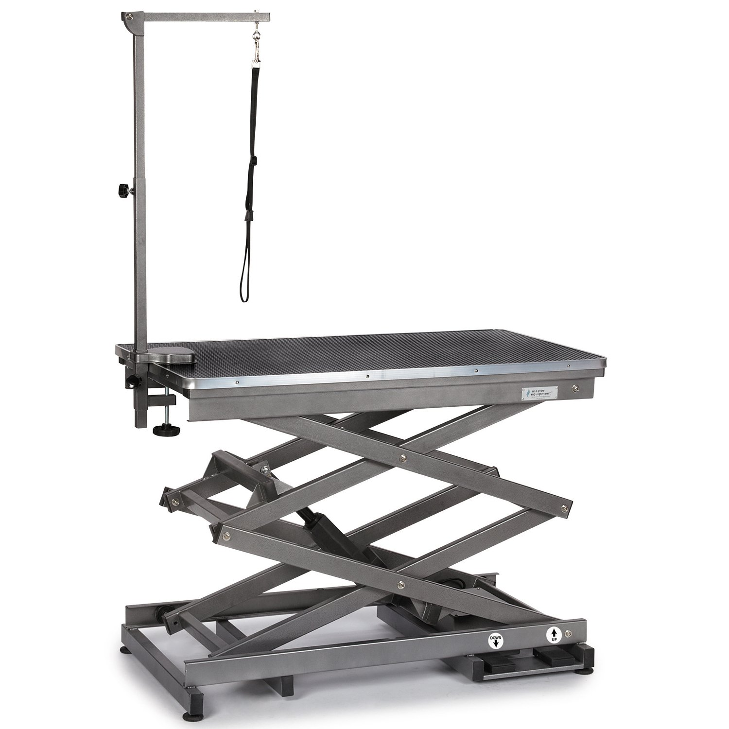 Master Equipment X-Tend Electric Grooming Table, Black