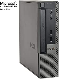 DELL OptiPlex 7010-USFF, Core i7-3770 3.4GHZ, 16GB RAM, 480GB Solid State Drive, DVD, Windows 10 Pro 64bit, (Certified Refurbished)