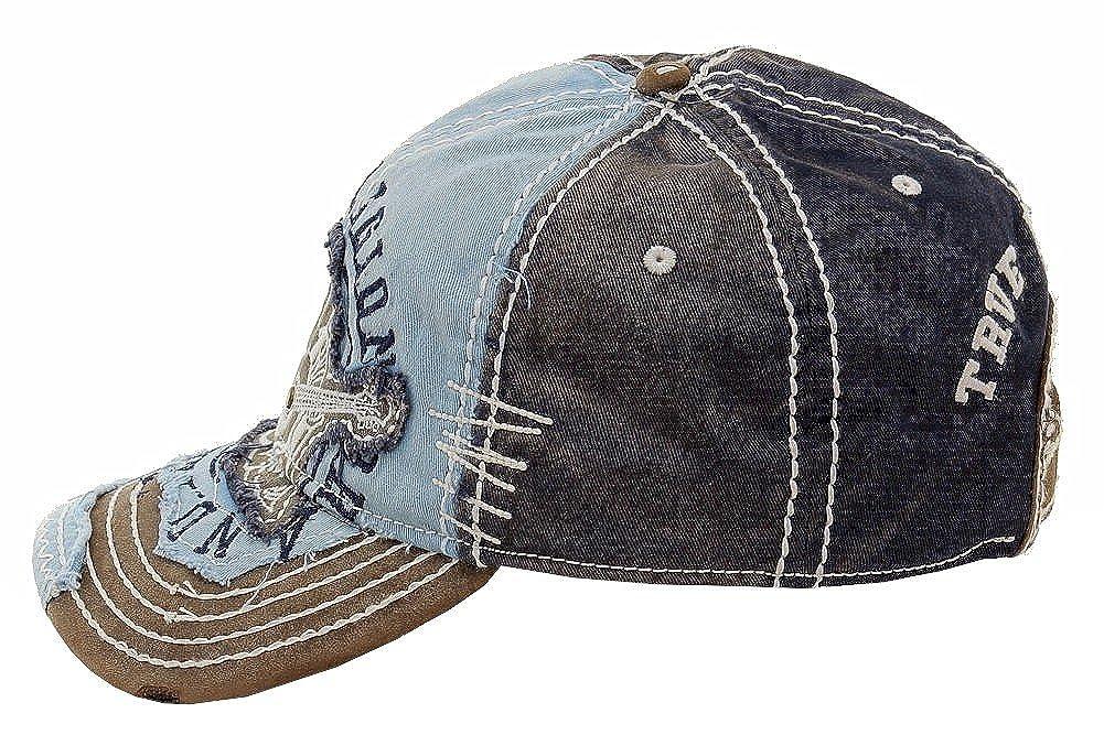 2224640a ... True Religion New Big Buddha Distressed Army Trucker Hat Cap/Tr#1101  (Dark ...