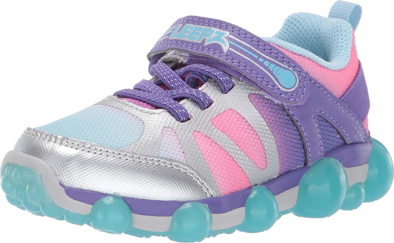 Toddler Purple Multi 10 Toddler W Stride Rite Baby Girls Leepz 3.0