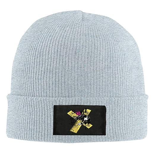 aadf55b8a3596 Taro Print Mens Winter Slouchy Warm Knit Hats Custom Personalized ...