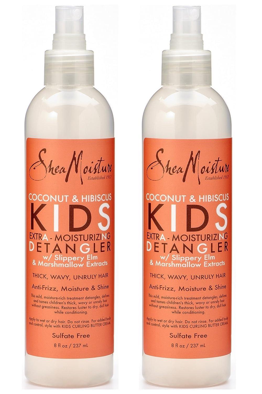 Shea Moisture Kids Extra-Moisturizer Detangler - Coconut & Hibiscus 235 ml (Pack of 2)