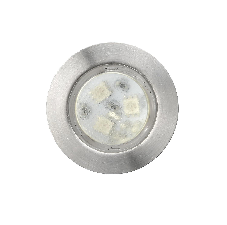 45mm Warm White Led Decking Lights Kitchen Plinth Lights Outdoor Low Voltage IP67 Waterproof Deck Lighting Kits Pack of 10