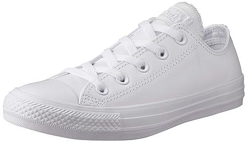 converse all star chuck taylor mono leather white