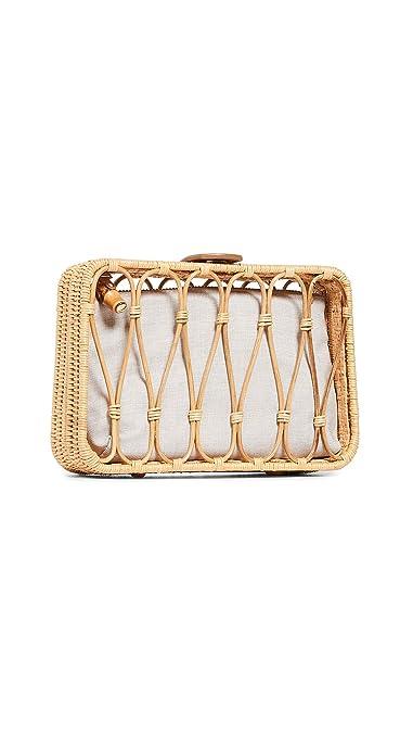 9de0afdca Kayu Women's Anya Clutch, Honey, Off White, Tan, One Size: Handbags ...