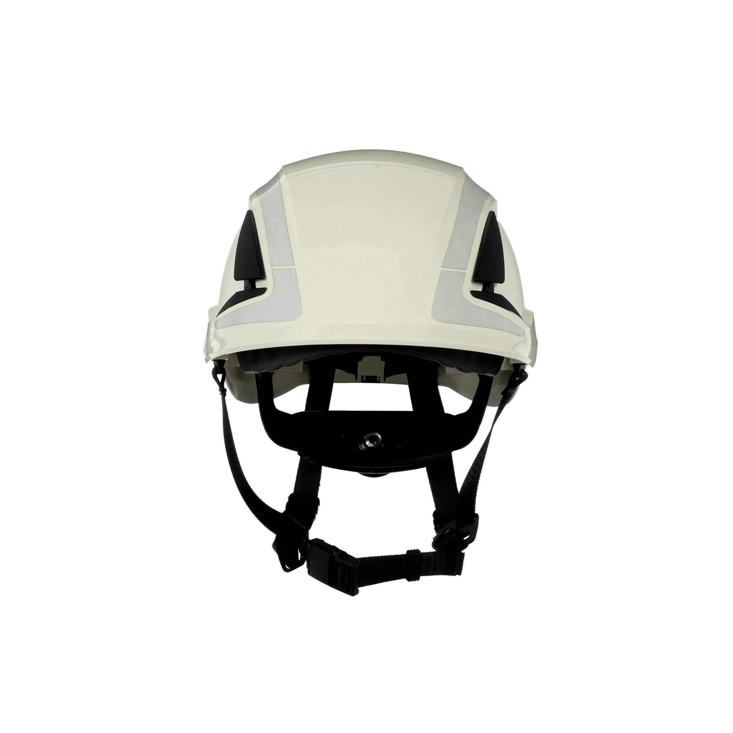 3M SecureFit Safety Helmet, X5001X-ANSI, White