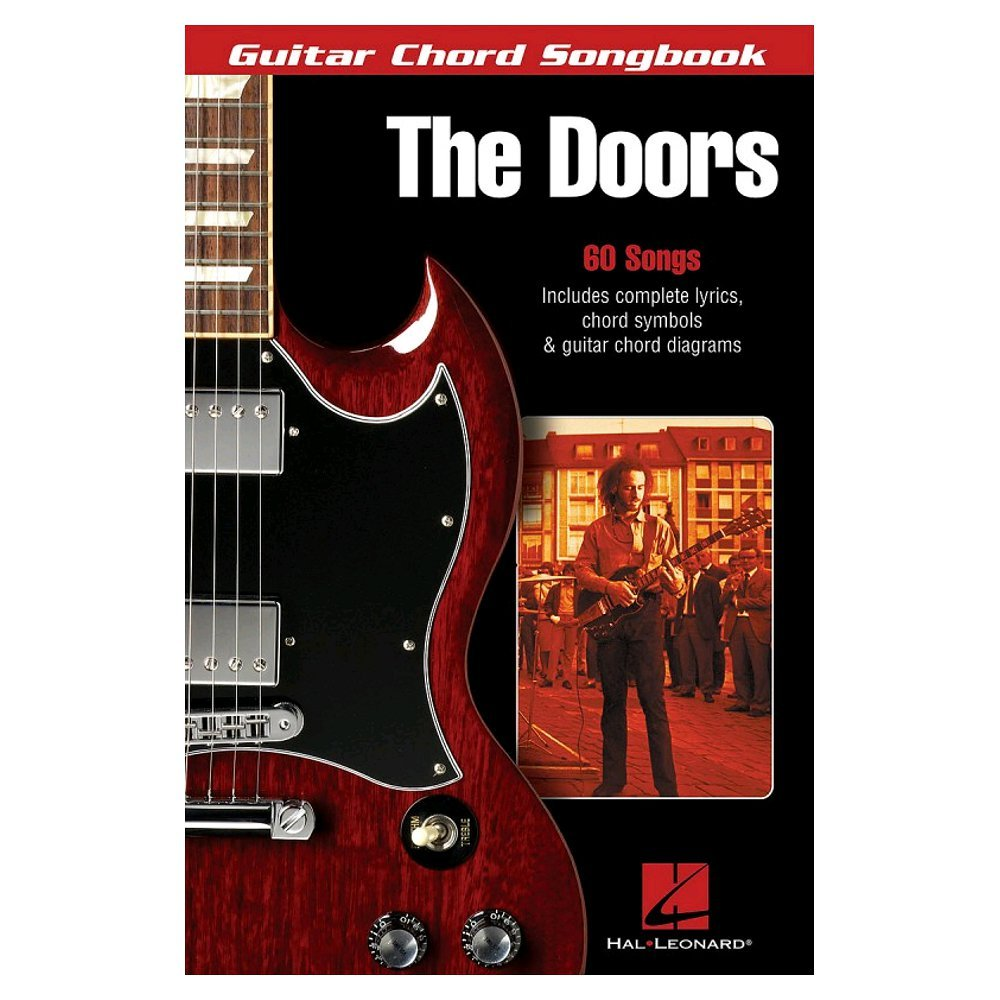 The Doors Guitar Chord Songbook Sheet Music For Lyrics Chords