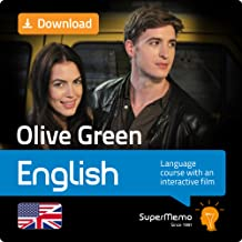Olive Green English Course with Interactive Movie by SuperMemo (All Levels) - Free 1-week promo code in description. [Download]