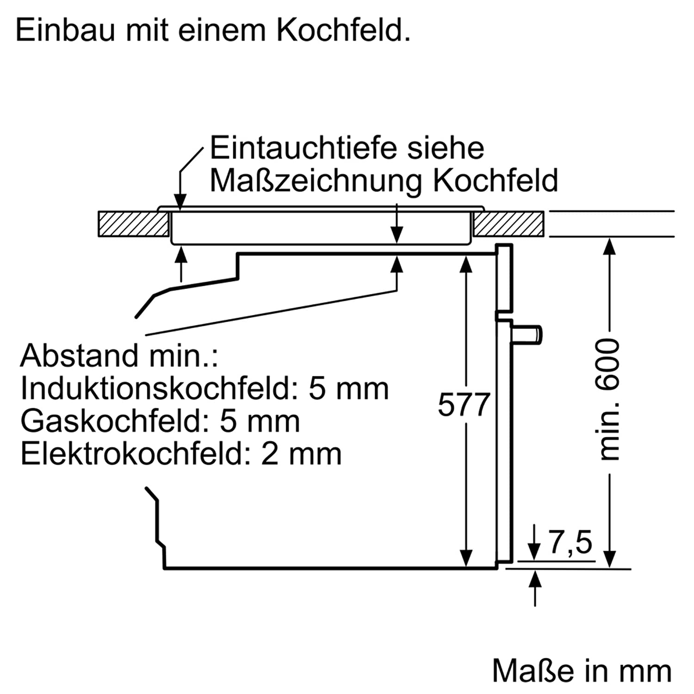 Bosch HBG675BB1 - Horno (Grande, Horno eléctrico, 71 L, 71 L, 30 ...