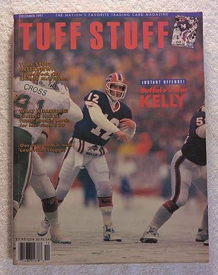 e892f493f03 Amazon.com  Jim Kelly - Buffalo Bills - Tuff Stuff Magazine ...
