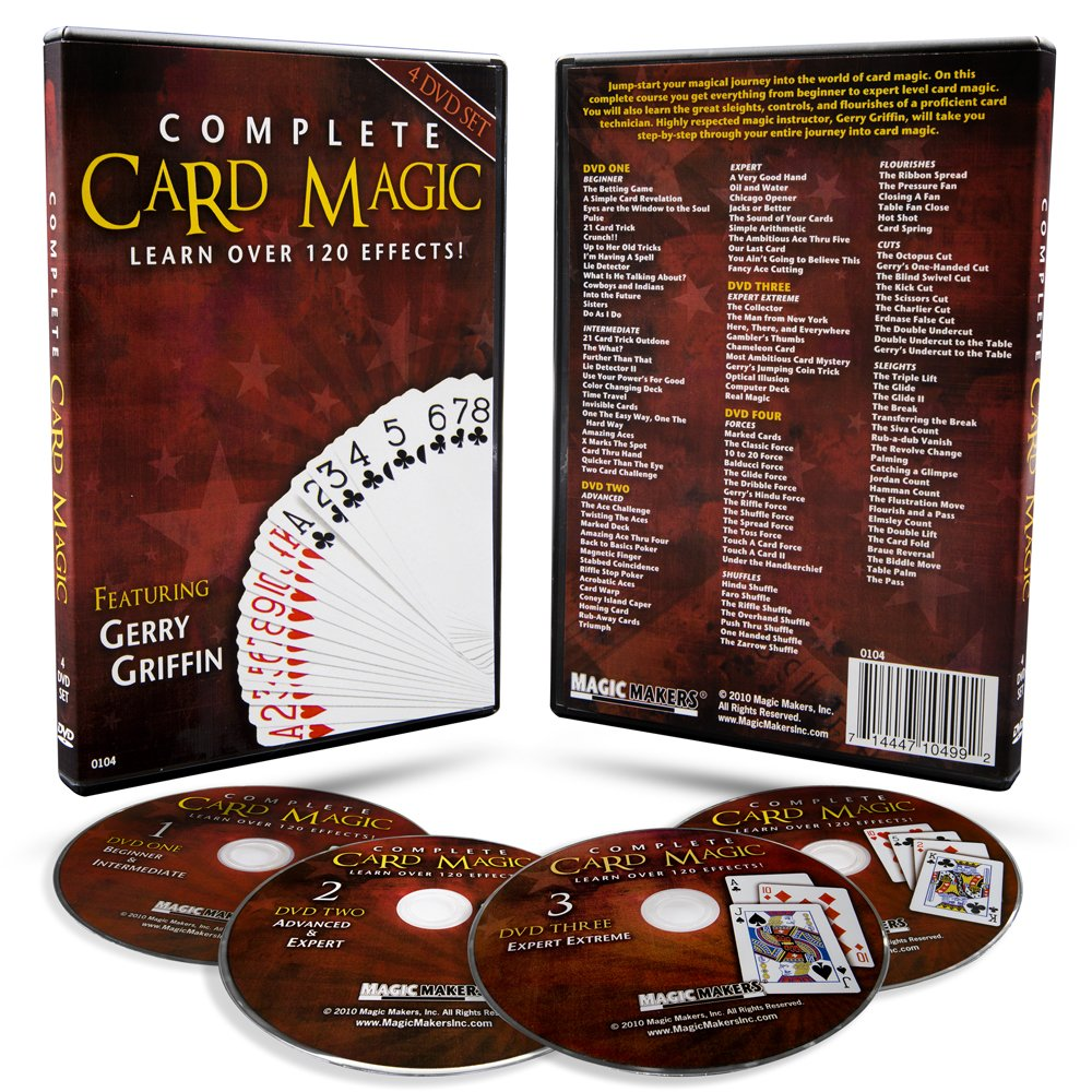 Magic Makers Complete Card Magic and Modern Coin Magic, Ultimate Combo Set, Over 300 Tricks by Magic Makers (Image #3)