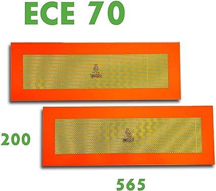 para remolques 565 x 200 mm 2/se/ñalizaciones para parte trasera Trupa ECE 70